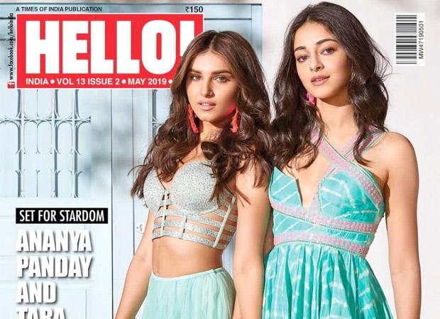 Debutants Ananya Panday And Tara Sutaria Slay On The Cover Of Hello Magazine