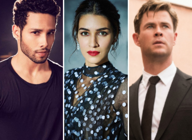 EXCLUSIVE: Siddhant Chaturvedi - Kriti Sanon to lend voices for Chris Hemsworth - Tessa Thompson in Hindi version of Men In Black: International?