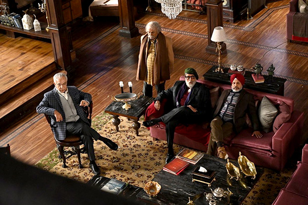 FIRST LOOK: Amitabh Bachchan looks intriguing as he kickstarts his next thriller Chehre