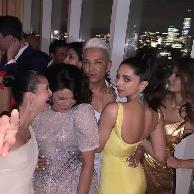 Met Gala 2019 After Party: Desi Girls Deepika Padukone And Priyanka Chopra Hang Out With The Vampire Diaries Star Nina Dobrev And Designer Prabal Gurung