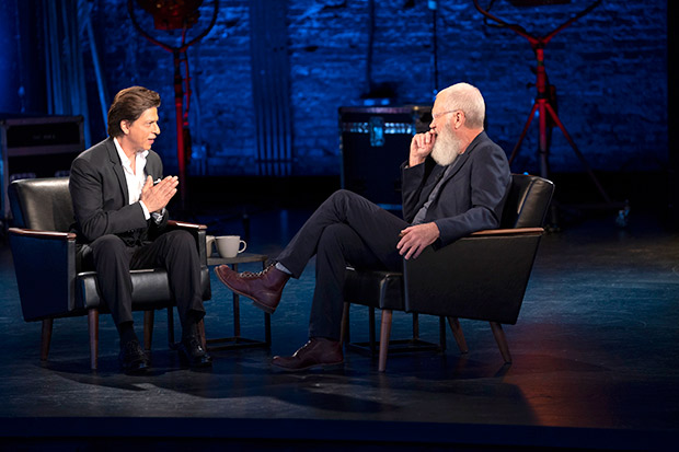 Shah Rukh Khan makes appearance on David Letterman's show; view pictures