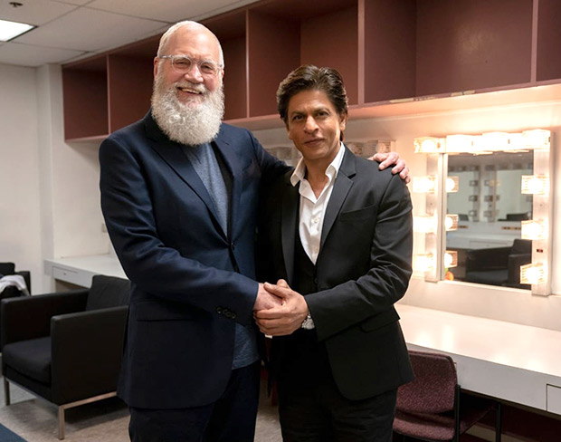 Shah Rukh Khan thrilled and honoured to share story with David Letterman