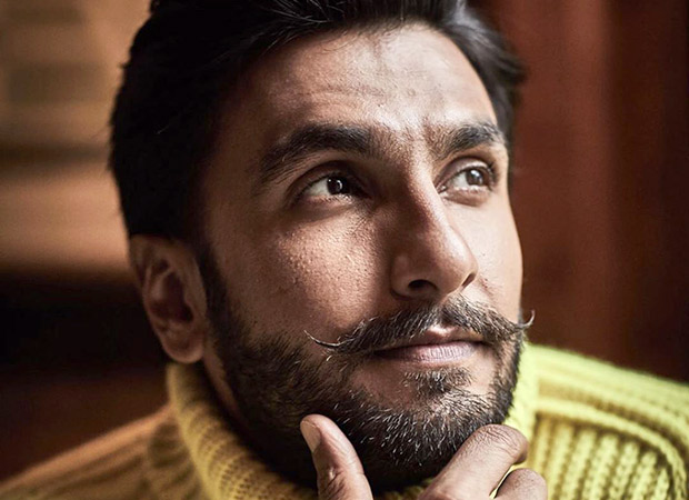 Ranveer Singh's collage resembling a shade card is humor on point!