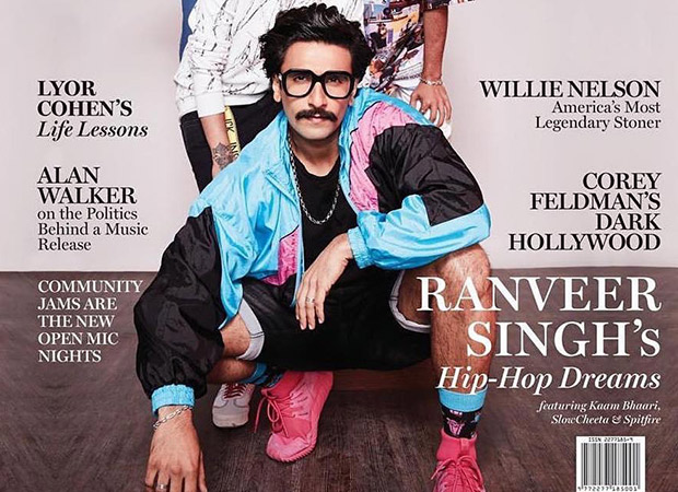 Ranveer Singh Posed For The Cover Of Rolling Stone With His Incink Squad And It Is Lit!