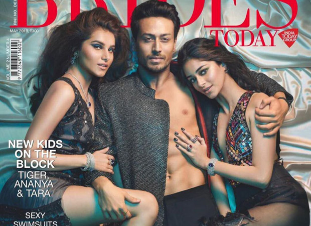 Student Of The Year 2: Tiger, Ananya, And Tara Soar The Temperature On The Cover Of Brides Today