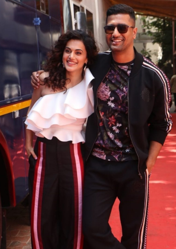 Manmarziyaan Stars Taapsee Pannu And Vicky Kaushal Reveal About Their Drunken Night Memory And It Is Hilarious