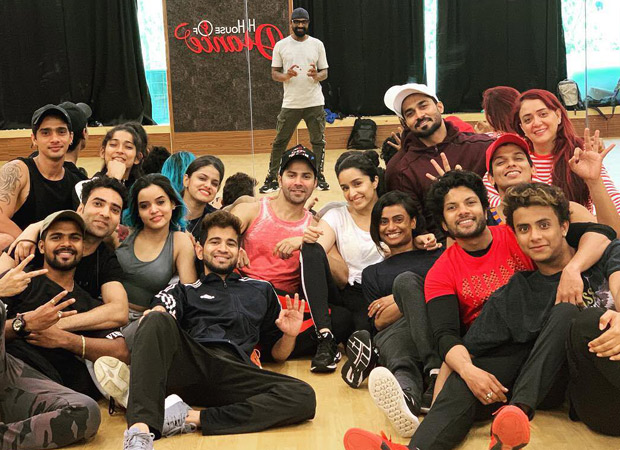 Team Street Dancer 3d With Varun Dhawan And Shraddha Kapoor Is Back For Rehearsals And We're Super Excited