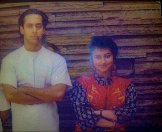 This throwback picture of Salman Khan and Divya Dutta will take you back to the 90s