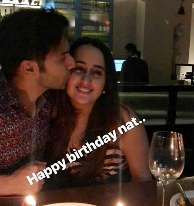 Varun Dhawan Gives A Sweet Kiss To Girlfriend Natasha Dalal On Her Birthday