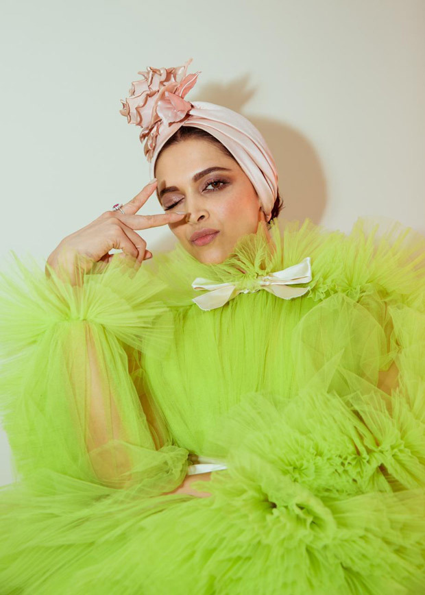 Cannes 2019 Day 2: Deepika Padukone is DRESSED TO KILL in Giambattista Valli lime green ruffled gown