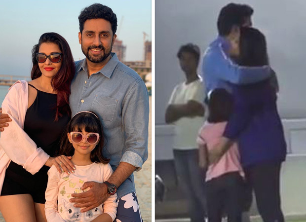 This Video Of Aaradhya Bachchan Giving A Tight Hug To Abhishek Bachchan Over A Football Victory Is The Cutest Thing You Will See On The Internet Today!