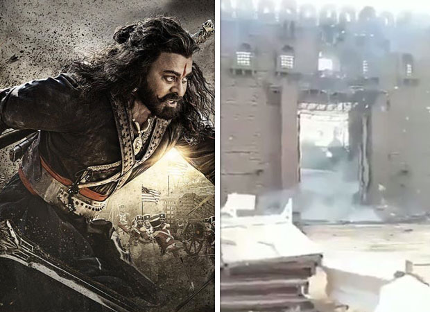 Sye Raa Narasimha Reddy: Fire breaks out on the sets of the Chiranjeevi starrer, makers suffer a loss of Rs. 2 crores