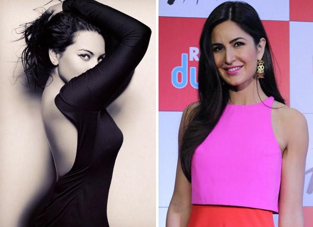 Katrina Kaif Has A Hilarious Reaction To This Sensuous Photo Of Sonakshi Sinha And We Wonder Why!