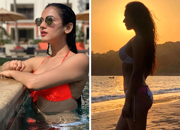 Hotness Alert! Sonal Chauhan Enjoying Her Summer In Bikini Mode Is Giving Us Vacation Goals! [see Photos]
