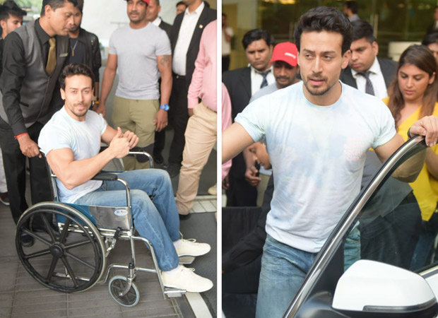 Tiger Shroff Obliges Fans' Requests During Student Of The Year 2 Promotions Despite Being Injured [see Photos]