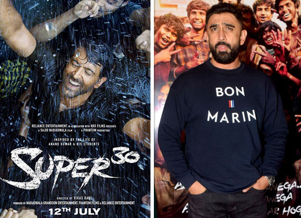 """everybody Works Hard But What Differentiates Hrithik Roshan Is That He Is Giving As An Actor,"" Says Super 30 Co-actor, Amit Sadh"