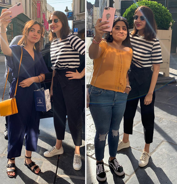 Anushka Sharma meets fans while shooting in Brussels