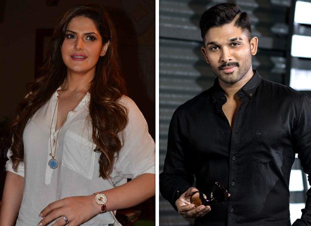 Zareen Khan is a FAN of Allu Arjun and she has a valid REASON for it!