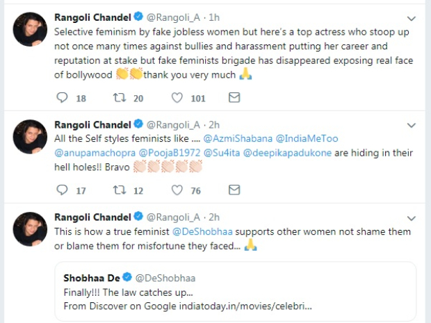 Aditya Pancholi booked under RAPE, ABUSE & EXTORTION charges; Rangoli Chandel claims he extorted Rs 1 crore from Kangana Ranaut
