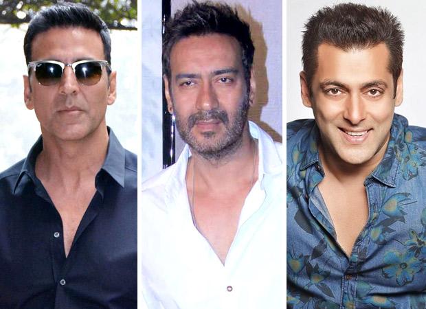 Akshay Kumar, Ajay Devgn, Salman Khan continue to be the busiest Bollywood superstars