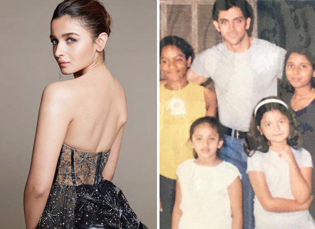 Can you spot Alia Bhatt in this THROWBACK photo with Hrithik Roshan?