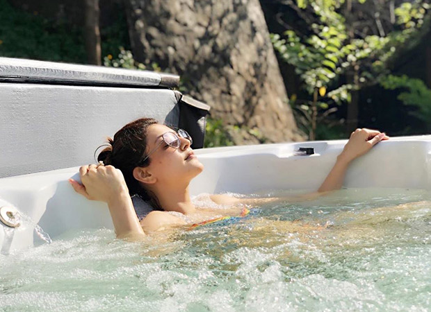 BIKINI BABE ALERT! Kajal Aggarwal basking the sun in a hot tub is going to make your day a lot better