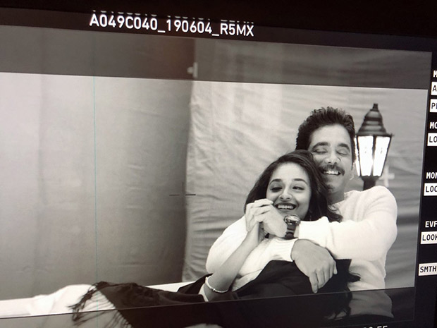 This photo of Keerthy Suresh and Nagarjuna from the sets of Manmadhudu 2 is winning hearts!