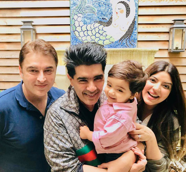 Mohabbatein actor Jugal Hansraj and wife meet up with Manish Malhotra in New York City