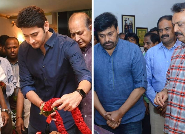 Mahesh Babu, Chiranjeevi And Other South Stars Pay Last Respect To Vijaya Nirmala After Her Sad Demise [see Photos]