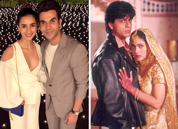 Rajkummar Rao and Patralekha just recreated the Shah Rukh Khan - Kajol scene from DDLJ and its winning hearts
