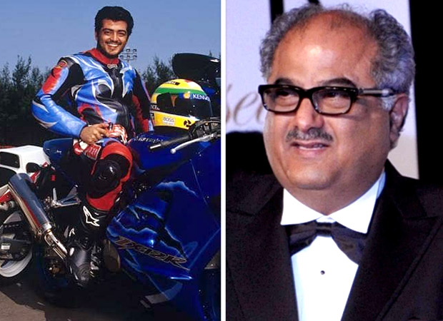 Woah! Auto enthusiast Thala Ajith to play racer in a Bollywood film, produced by Boney Kapoor?