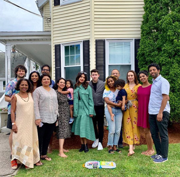 PHOTO ALERT: Nick Jonas joins Priyanka Chopra and her extended family in Boston