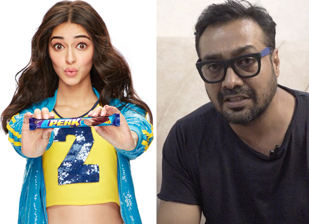 Revealed: Here's What Ananya Panday And Anurag Kashyap Were Working On Together