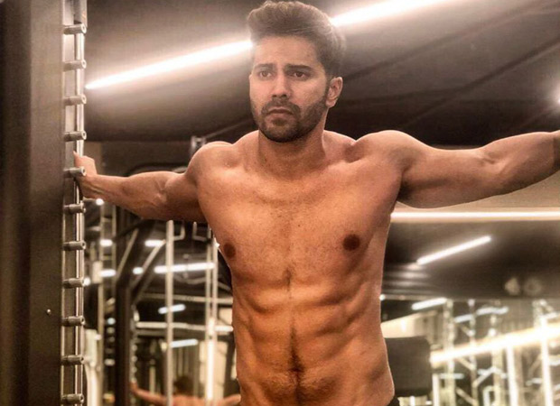 Raising the hotness quotient, Varun Dhawan's SHIRTLESS look is all you need to make your rainy day better!