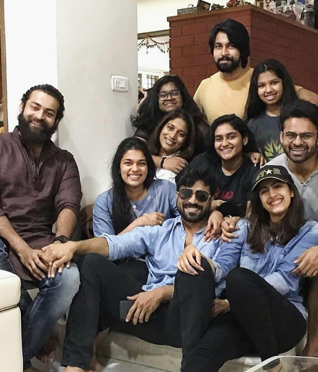 Ram Charan spends a rainy Sunday with family and the photos are frame-worthy!