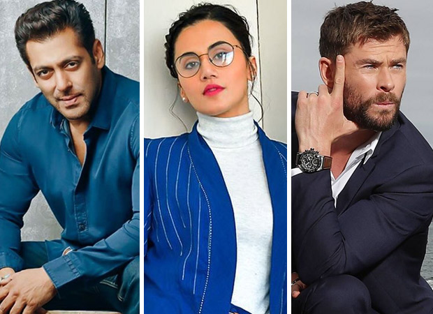 Here's why Taapsee Pannu feels she is sandwiched between Salman Khan and Chris Hemsworth!