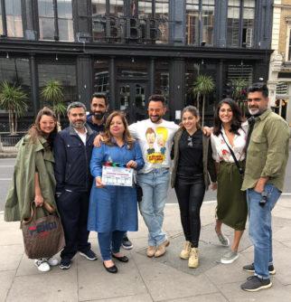Saif Ali Khan starrer Jawaani Jaaneman commences shoot in London