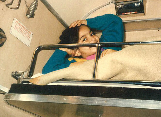 The photo of Sonam Kapoor Ahuja's regression since childhood is adorable.
