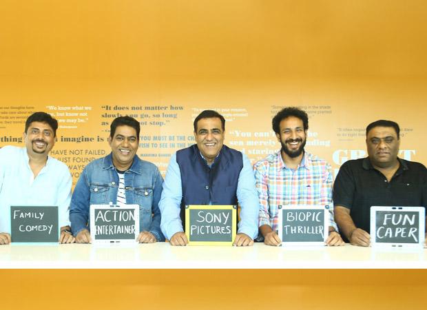 Sony Pictures rope in directors Umesh Shukla, Sajid Samji, Sabbir Khan and Sashi Kiran Tikka, all films to go on floors in 2019