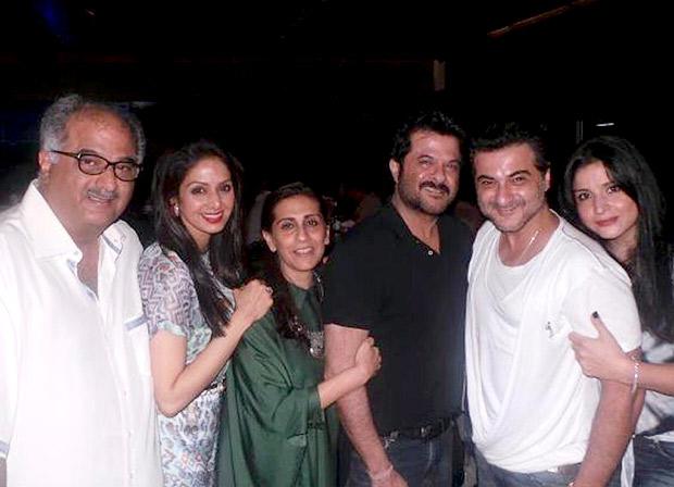 THROWBACK: This photo of Sridevi, Anil Kapoor, Boney Kapoor, Sunita Kapoor, Sanjay Kapoor, Maheep Kapoor is a timeless gem