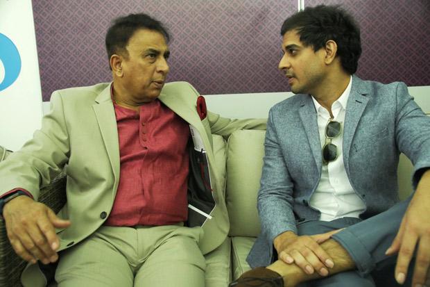 Tahir Raj Bhasin enjoys his fanboy moment after meeting Sunil Gavaskar for '83 prep!