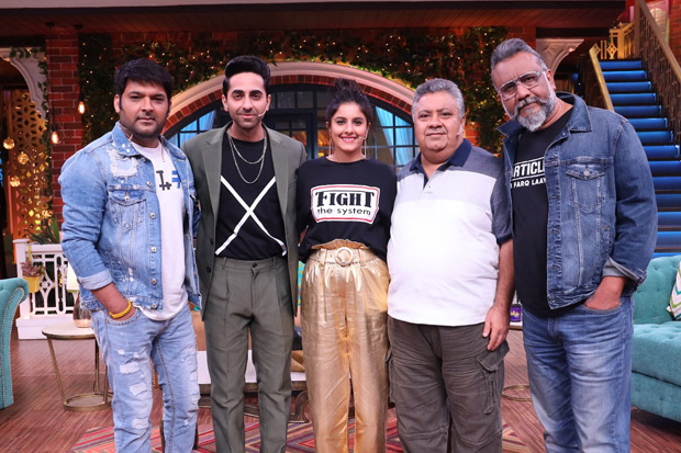 The Kapil Sharma Show: Here's Why Ayushmann Khurrana Doesn't Want His Son To Watch His Films, Reveals Vrajveer Loves Varun Dhawan