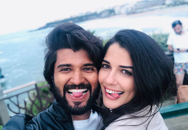 This Photo Of Arjun Reddy Actor Vijay Deverakonda Making Goofy Faces With Brazilian Actress Izabelle Leite Is Going Viral