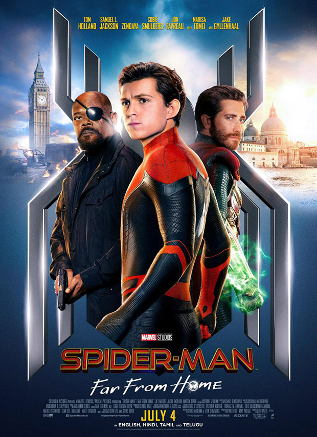 Spider Man Far From Home Release