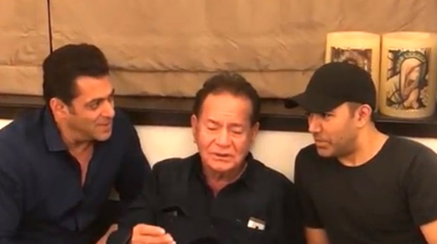 WATCH VIDEO: Salman Khan croons old classics with 'Sultan' of the family, his father Salim Khan