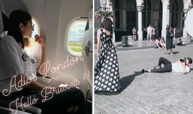 When Anushka Sharma decided to take a short trip to Brussels from London [See Photos]