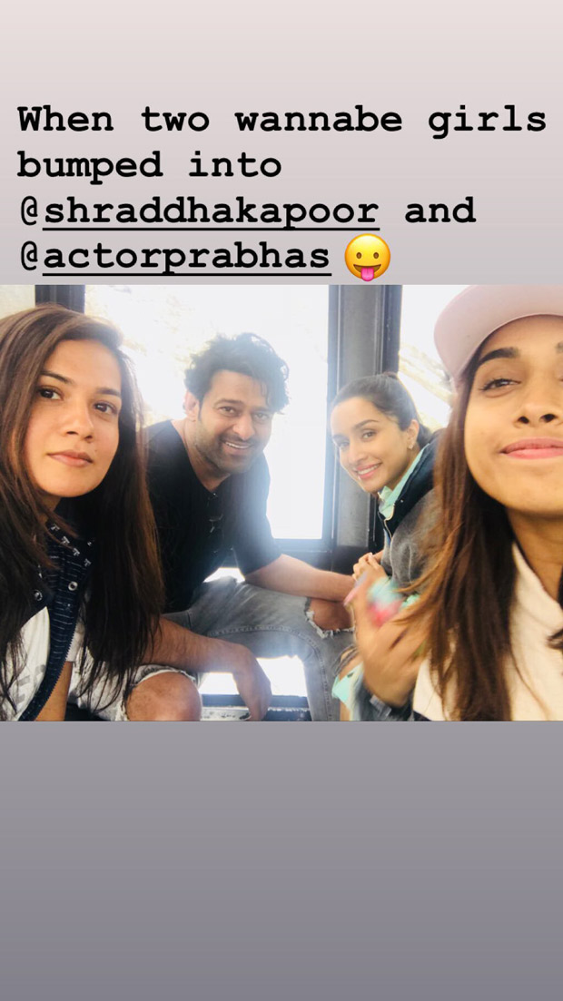 Saaho: Prabhas And Shraddha Kapoor Are Enjoying The Snow-capped Locations Of Austria And These Photos Are Proof!