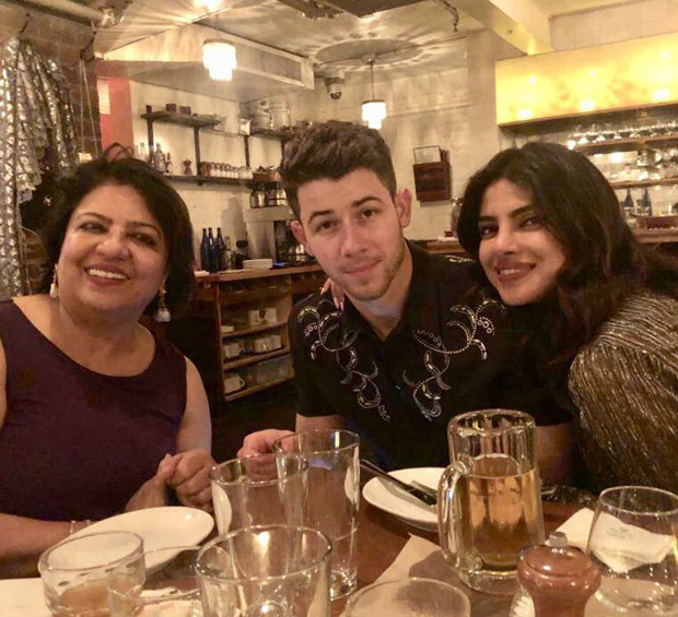 Priyanka Chopra and Nick Jonas ring in Madhu Chopra's birthday in Boston [See photos and videos]