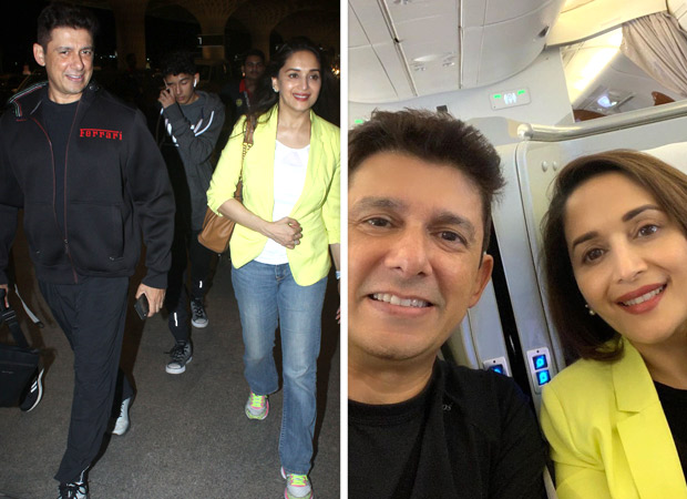 Madhuri Dixit and husband Sriram Nene are on a Roman holiday with their kids