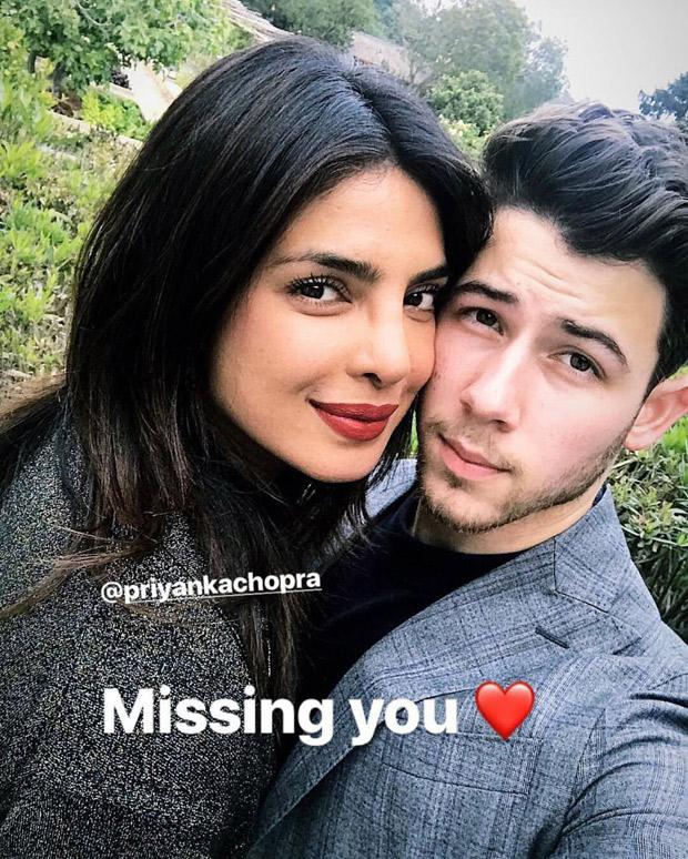 This adorable 'miss you' post that Nick Jonas dedicated to wife Priyanka Chopra is making Nickyanka fans go 'aww'!
